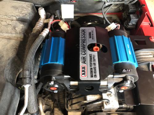 M.O.R.E. ARBJKUH ARB Air Compressor Mount for Jeep Wrangler JK 4 Door 2007-2018