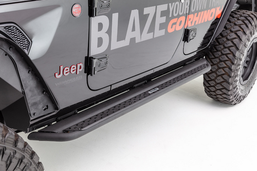 Go Rhino DSS4516T Dominator DSS Rock Sliders for Jeep Gladiator JT 2020+
