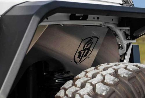 Road Armor 518LFF0Z Stealth Front Inner Fender Pair for Jeep Wrangler JL & Gladiator JT 2018+