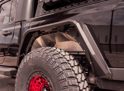 Road Armor 520LFR0Z Stealth Rear Inner Fender Pair for Gladiator JT 2020+