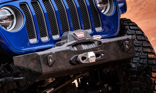 Nemesis Industries 14133 Helix Stubby Front Winch Bumper for Jeep Wrangler JL & Gladiator JT 2018+
