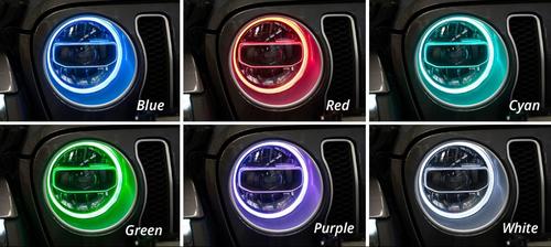 Diode Dynamics DD2290 RGBW HD LED Halos for Jeep Wrangler JL & Gladiator JT 2018+