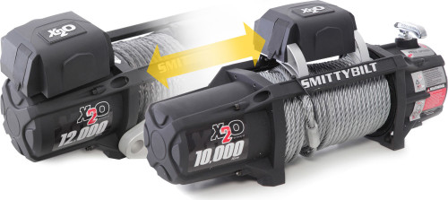 Smittybilt X2O-10 Comp Gen2 Winch with Synthetic Line