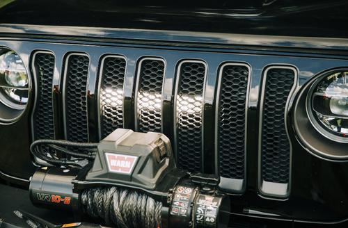 Rugged Ridge 11232.77 Grille LED Mount Bracket for Jeep Wrangler JL & Gladiator Jt 2018+