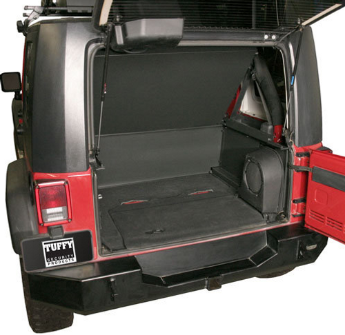 Tuffy Security Products 173-01 Security Deck Enclosure for Jeep Wrangler JK 2007-2010