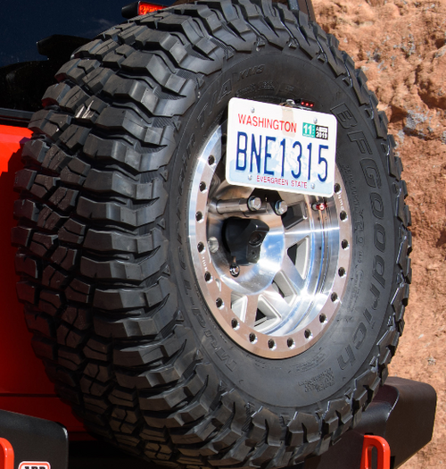 ARB 5750390 License Plate Relocation Bracket for Jeep Wrangler JL 2018+