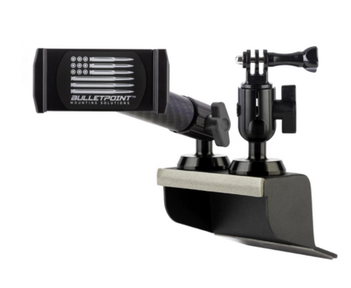 Bulletpoint Mounting Solutions UDPM-X Universal Dual Phone Mount with Extra Arm for Jeep Wrangler JK 2011-2018