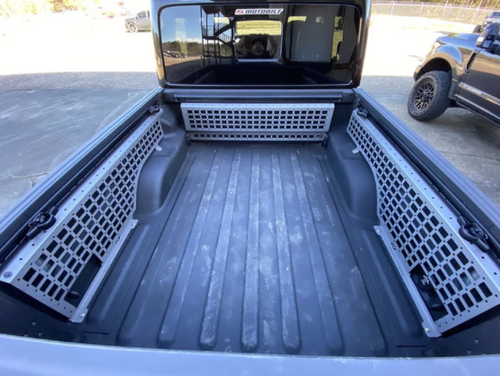 Motobilt MB1119 MOLLE Three Panel Bed Rack System for Jeep Gladiator JT 2020+