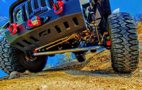 "RPM Steering RPMF-1011JLT 2.5 Ton HD 2"" Aluminum Steering Kit for Jeep Wrangler JL & Gladiator JT 2018+ Non-Rubicon"