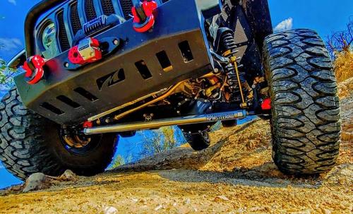 "RPM Steering RPMF-1009JLT 2.5 Ton Heavy Duty 2"" Aluminum Drag Link for Jeep Wrangler JL & Gladiator JT 2018+"