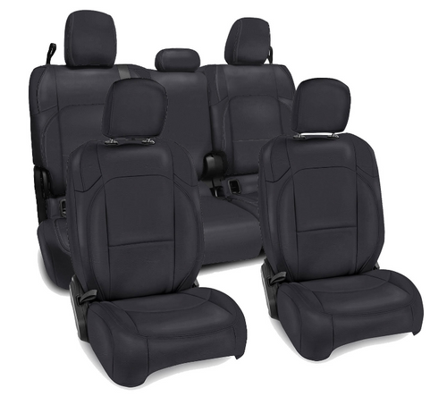 PRP Seats B039-055-01 Vinyl Front & Rear Seat Cover Set for Jeep Gladiator JT 2020+