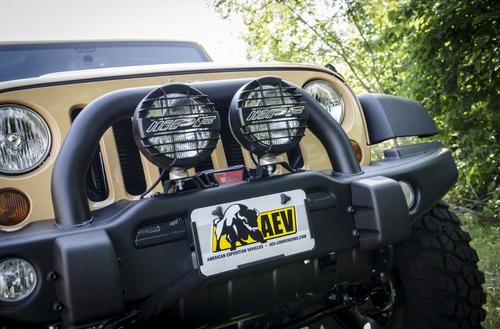 AEV 10404004AA Roller Fairlead License Plate Mount