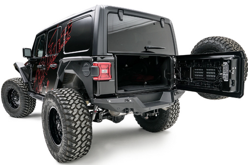 Fab Fours JL18-Y1851-1 Rear Bumper for Jeep Wrangler JL 2018+