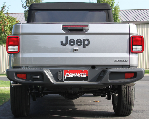 Flowmaster 817913 American Thunder Cat-Back Exhaust System for Jeep Gladiator JT 2020+