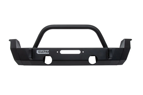 ICON Vehicle Dynamics 25152 Impact Front Bumper End Caps- Mid Width for Jeep Wrangler JL & Gladiator JT 2018+