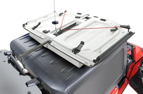 Lange Originals 014-950-R Power Hoist-A-Top with Wireless Remote for Jeep Wrangler JL 2 Door 2018+