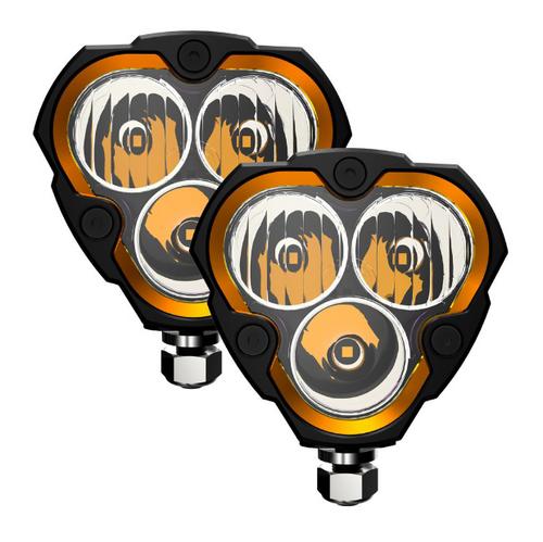 KC Hilites 283 Flex Era 3 LED Light System Combo Beam Pattern