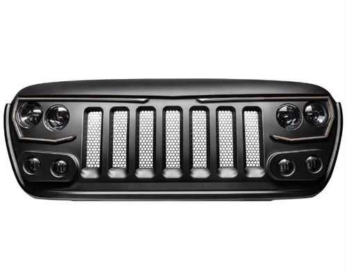 Oracle Lighting 5837-PRO VECTOR PRO Series LED Grille for Jeep Wrangler JL & Gladiator JT 2018+