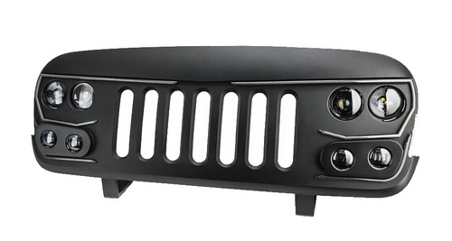 Oracle Lighting 5817-PRO VECTOR PRO Series LED Grille for Jeep Wrangler JK 2007-2018