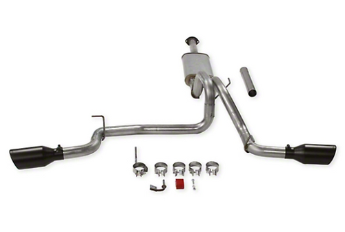 Flowmaster 717918 FlowFX Dual Exhaust System with Black Tips & Side Exit for Tacoma 3.5L 2016+