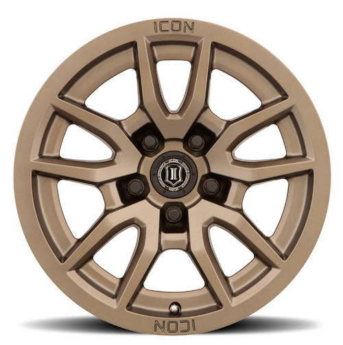ICON Vehicle Dynamics 2617857345BR Vector 5 Wheel in Bronze   17x8.5   5on5