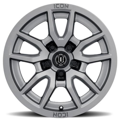 ICON Vehicle Dynamics 2617857345TT Vector 5 Wheel in Titanium   17x8.5   5on5