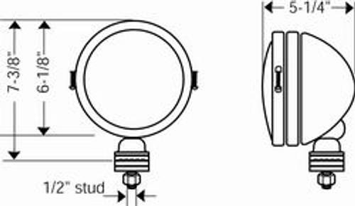 KC HiLites 100 Watt Daylighter Pair Pack System