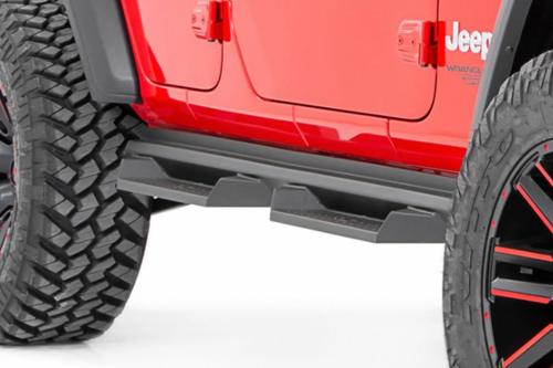 Rough Country SDS1874 DS2 Drop Steps for Jeep Wrangler JL 4 Door 2018+