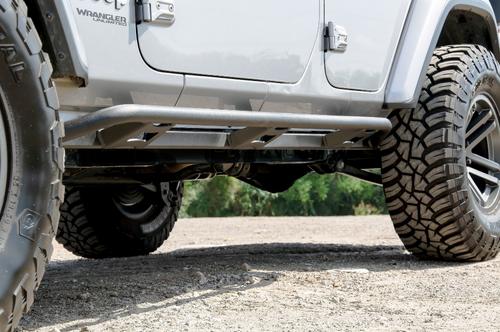 N-Fab TSJ184-TX Trail Slider Side Steps for Jeep Wrangler JL 4 Door 2018+