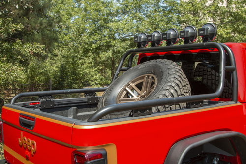 Rugged Ridge 11546.71 Bed Mounted Spare Tire Carrier for Jeep Gladiator JT 2020+
