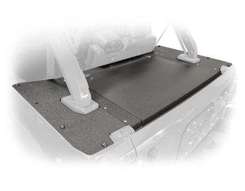 DV8 Offroad JLRS-01 Rear Locking Storage Cover for Jeep Wrangler JL 4 Door 2018+