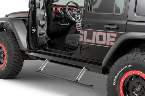 Rock Slide Engineering BD-SS-200-JL4 Gen II Step Sliders for Jeep Wrangler JL 4 Door 2018+