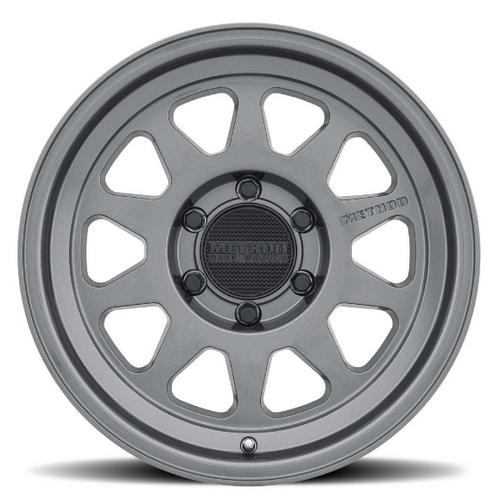 Method Race Wheel MR31678550800 Street Series 316 Wheel 17x8.5 5x5 Titanium