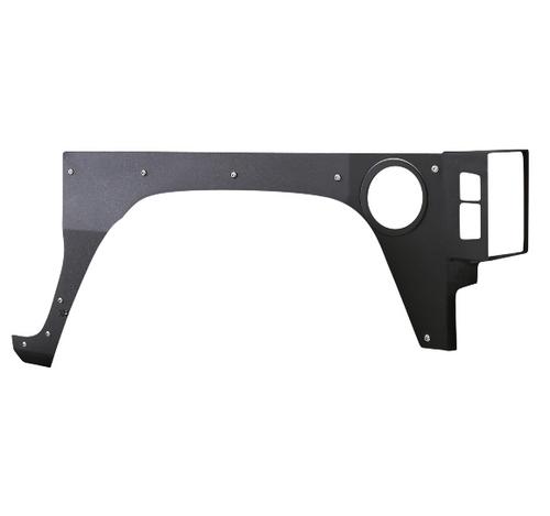 Smittybilt 76981 Rear Body Armor Skins for Jeep Wrangler JK 2 Door 2007-2018