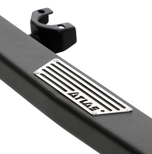 Smittybilt 76897 XRC Atlas Rock Sliders with Step for Jeep Wrangler JK 2 Door 2007-2018