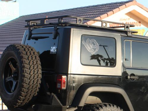 Smittybilt 45454 Defender Roof Rack for Jeep Wrangler JK 4 Door 2007-2018