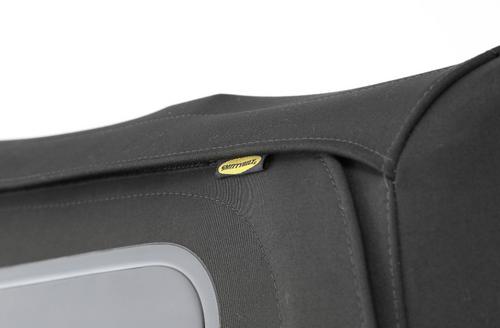 Smittybilt 9086235 Premium Replacement Canvas Soft Top for Jeep Wrangler JK 4 Door 2010-2018