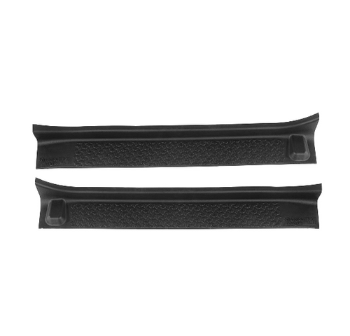 Rugged Ridge 11216.31 Front Door Entry Guard Pair for Jeep Wrangler JL 2018+