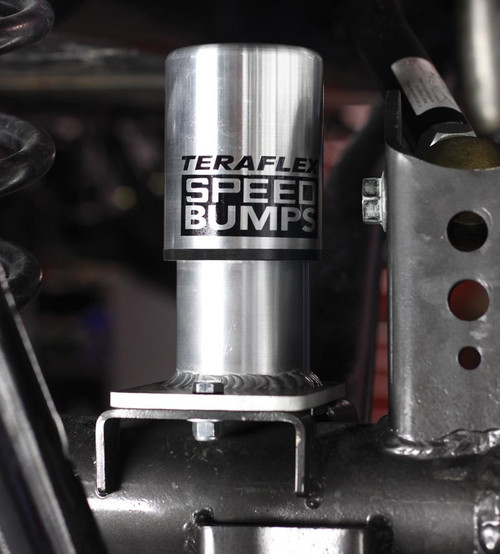 "TeraFlex 5"" Rear SpeedBump Bumpstop Installed"