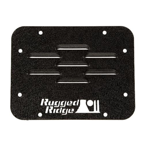 Rugged Ridge 11586.10 Tire Carrier Delete Plate for Jeep Wrangler JK 2007-2018
