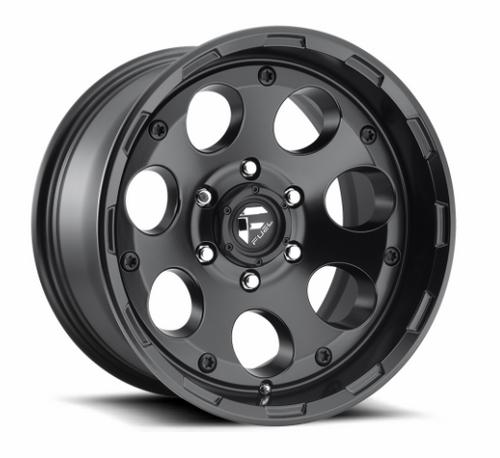 Fuel D60817907345 Enduro Wheel 17x9 5x5 Matte Black