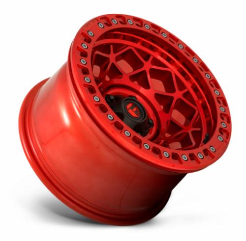 Fuel D12117907545 Unit Beadlock 17x9 5x5 Candy Red