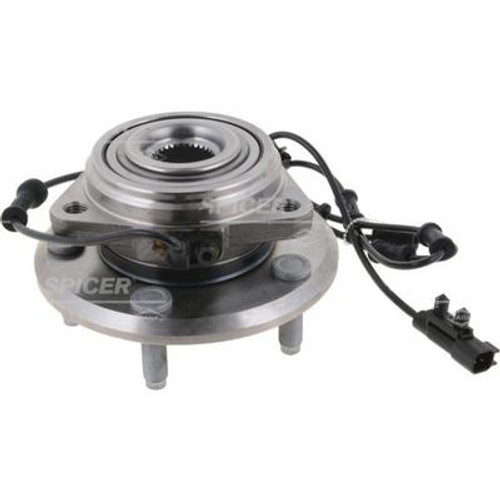 Dana Spicer 10021363 Front D30/44 Wheel Hub Assembly for Jeep Wrangler JK 2007-2018