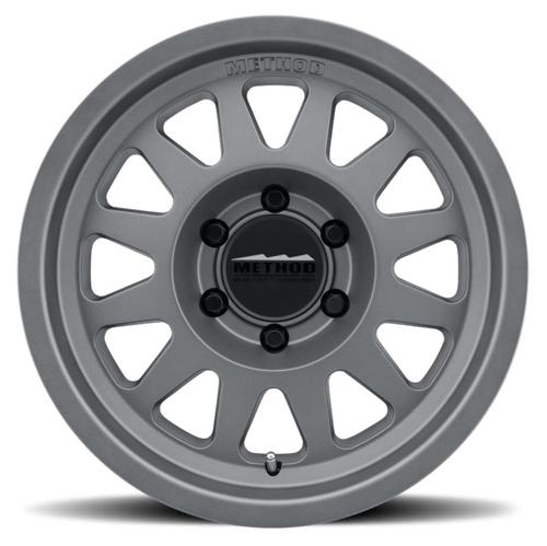 Method Race Wheels MR70478550800 Trail Series 704 Wheel 17x8.5 5x5 Titanium
