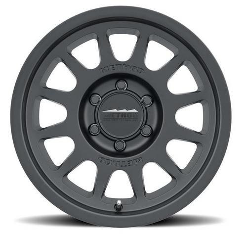 Method Race Wheels MR70378550500 Trail Series 703 Wheel 17x8.5 5x5 in Matte Black