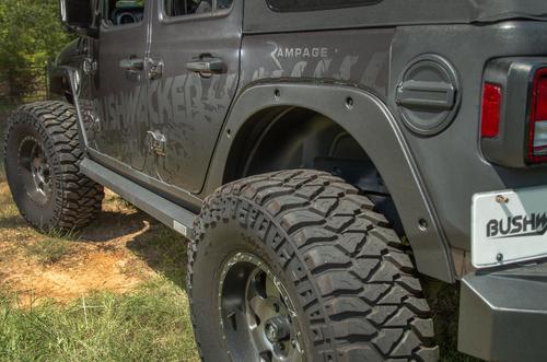 Bushwacker 14096 Trail Armor Fender Delete Kit for Jeep Wrangler JL 2018+