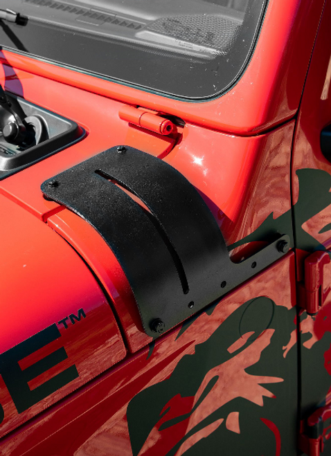 Rampage Products 7690 Adjustable Cowl Cover & Light Mount for Jeep Wrangler JL 2018+