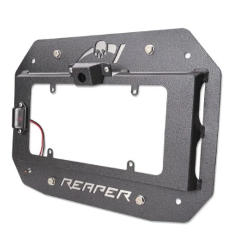 Reaper Off-Road JLTSX2-B License Plate Carrier for Jeep Wrangler JL 2018+