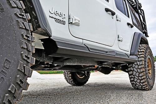 LoD Offroad JRS1861 Armor Lite Rock Sliders for Jeep Wrangler JL 4 Door 2018+