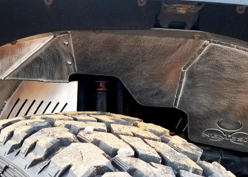 Nemesis Industries 125700 Front Inner Fender Pair for Jeep Wrangler JK 2007-2018